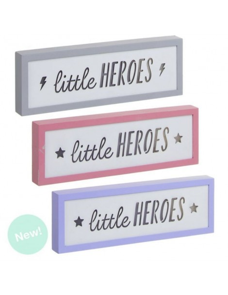 Caja de luz little Heroes