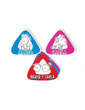 Etiquetas personalizada Bebe a Bordo