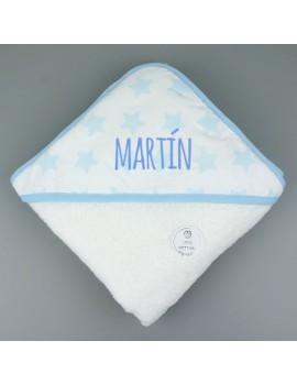 Capa de baño estrellas Personalizada