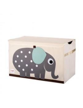 Baúl guardajuguetes elefante 3 Sprouts