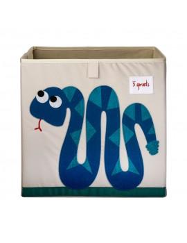 Cubo para juguetes serpiente 3 Sprouts
