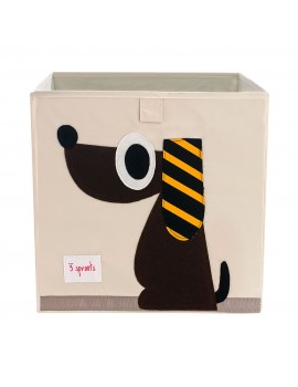 Cubo para juguetes perro 3 Sprouts