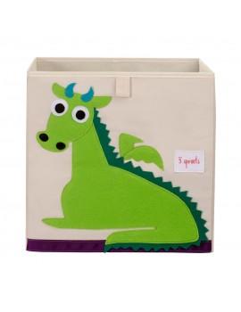 Cubo para juguetes dragón 3 Sprouts