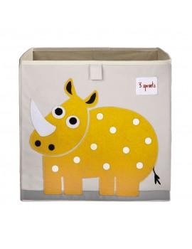 Cubo para juguetes rino 3 Sprouts