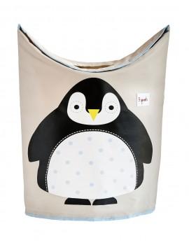 Cesto para ropa sucia pingüino 3 Sprouts