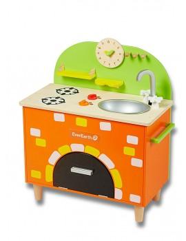 Cocinita horno de ladrillo