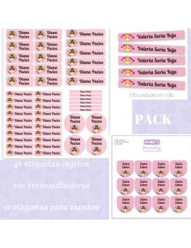 Etiquetas personalizadas pack ahorro