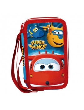 Estuche 3 pisos Super Wings