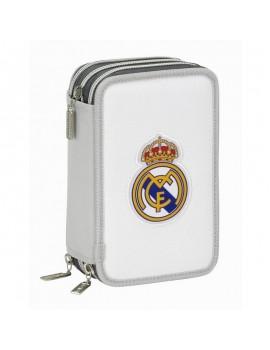 Estuche 3 pisos Real Madrid