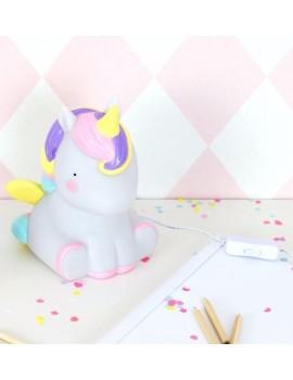 Lámparas infantiles unicornio Little Lovely