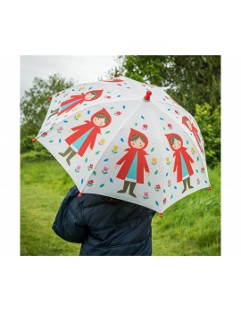 Paraguas Caperucita roja