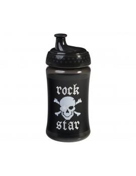 Botella con boquilla Rock Star Baby