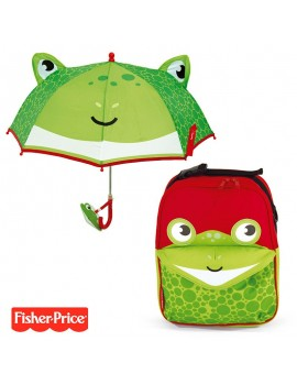 Pack mochila y paraguas Fisher Rana