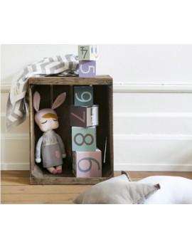 Muñeca Little Bunny Miniroom 30 cm