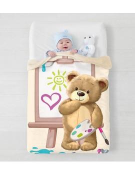 Manta para bebé cuna Manterol
