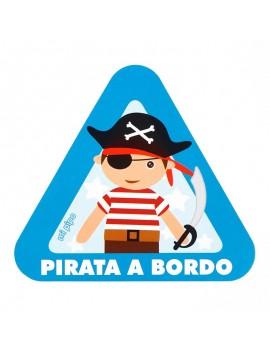 Etiquetas bebé a Bordo (Pirata, Hada, Oso)