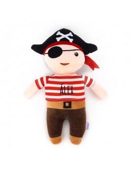 Muñeco pirata personalizado