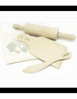 Set de 3 herramientas para plastilina orgánica para modelar