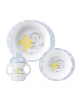 Vajilla bebé 3 piezas microondas Saro