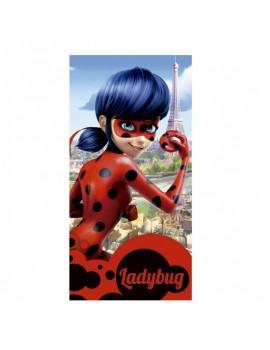 Toalla microfibra Ladybug