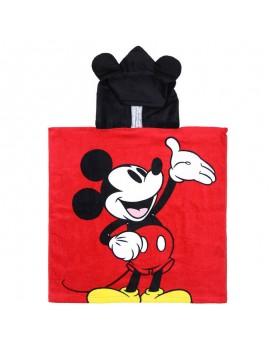 Poncho de rizo Mickey Mouse