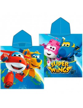 Poncho de baño Super Wings