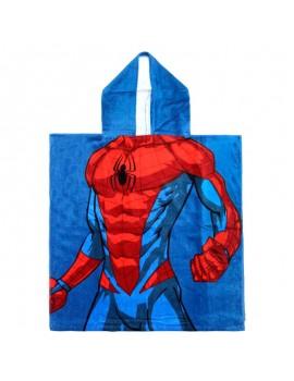 Poncho de baño Spiderman