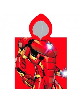 Poncho de baño Iron Man
