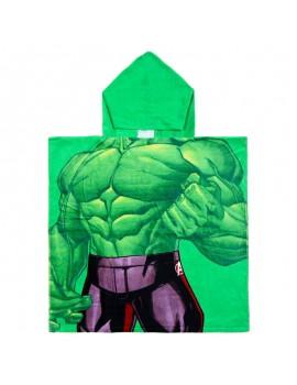 Poncho de baño Hulk