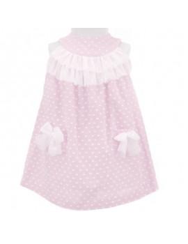 Vestido algodón. Talla 2-6 años
