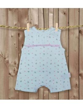 Pijama 100% algodón. Talla 12 meses