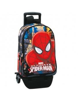 Mochila Trolley Spiderman 43 cm