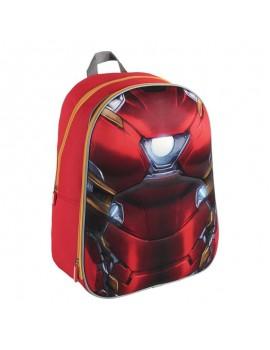 Mochila Iron Man 3D