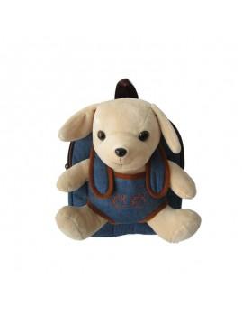 Mochila con perrito extraíble 28 cm