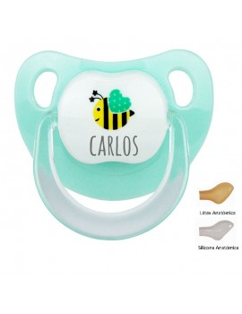 Chupete personalizado abeja