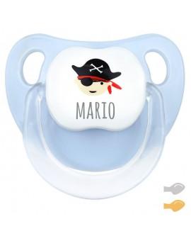 Chupete personalizado hada/pirata