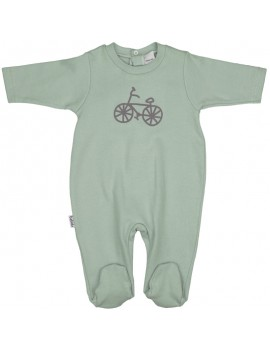 Pelele bicicleta Babidú. Talla 0-24 meses