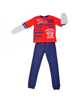 Pijama algodón Tobogán niño (Talla 8-16 años)