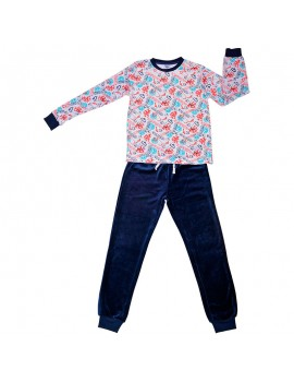 Pijama aterciopelado Tobogán niño (Talla 8-16 años)