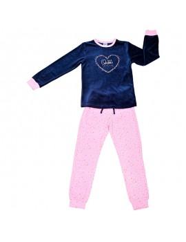 Pijama aterciopelado Tobogán niña (Talla 8-16 años)