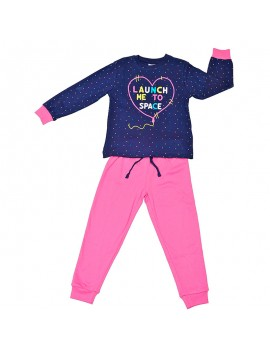 Pijama algodón Tobogán niña. (Talla 2-6 años)