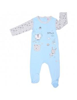 Pijama algodón. Talla 6-24 meses