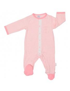 Pijama algodón niña. (Talla 0 a 6 meses)