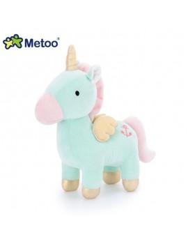 Peluche unicornio 25 cm Metoo (4 colores)