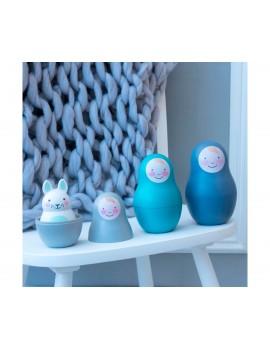 Matrioska Bo Bunny- azul