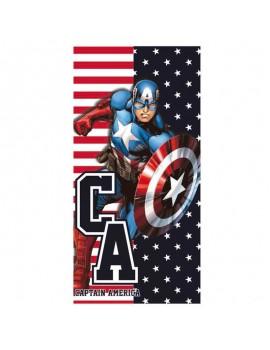 Toalla poliester Capitán América