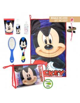 Set neceser aseo Mickey Mouse con cepillo de dientes
