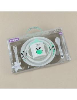 Vajilla personalizada bebé 5 piezas OSO