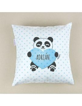 Cojín almohada personalizado oso panda