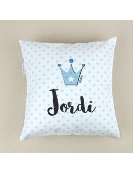 Cojín almohada personalizado corona